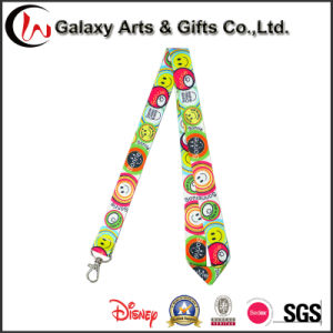 Promotion Gift Sublimation Product Polyester Full Color Prinitng Lanyard (HT-810) pictures & photos