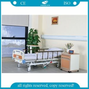 AG-Bmy001 Advanced Three Functions Hydraulic Medical Bed pictures & photos