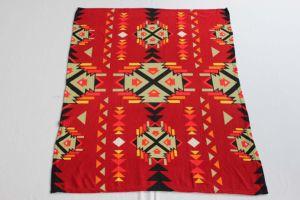 100% Polyester Fleece Blanket/Native American Designs pictures & photos