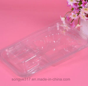 PVC Transparent Plastic Blister Packing for Car Charger pictures & photos