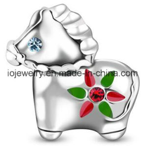 Christmas Stocking Silver Charm Bead pictures & photos