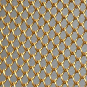 Construction Decorative Window Curtain Mesh /Decorative Wire Mesh pictures & photos