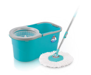 with Carry Handle Walkable Magic Mop pictures & photos