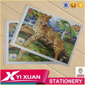 Cheap Custom Notebook Children Color Spiral Drawing Book Printing pictures & photos