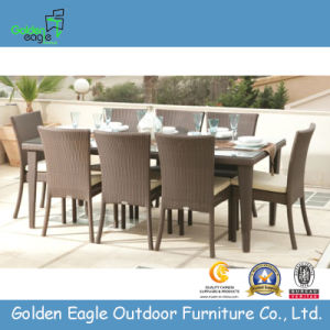 Outdoor Furniture PE Rattan Dining Table (FP0121)