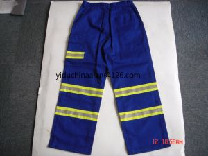 100% Cotton Flame Retardant Pants&Shirt with Reflective pictures & photos