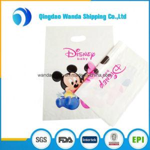Thicken 3D Bright Color Low Density Polyethylene Merchandise Die Cut Bag pictures & photos