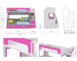 Popular Design Bunk Bed Colorful Children Kids Bedroom Furniture (GAUSS) pictures & photos