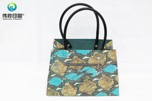 Cute Handbag Looking Paper Printing Gift Packaging Bag pictures & photos