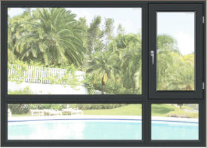 Cheap Aluminum Clad Wood Framed Casement Window with Double Glazed Glass pictures & photos