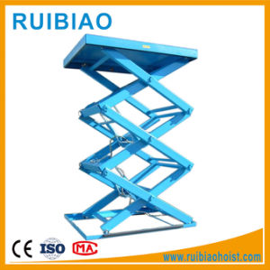 Hydraulic Small Warehouse Scissor Lift Platform, Cargo Lift pictures & photos