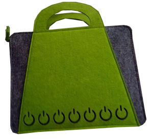 Hot Stamping Felt Christmas Gift Bags pictures & photos