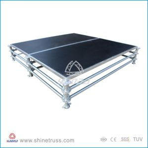 Aluminum Frame 18mm Plywood Platform Performance Stage pictures & photos