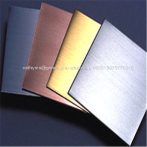 PVD Color Stainless Steel Sheets and Plates AISI304 Steel Material pictures & photos