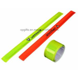 Sport PVC Reflective Slap Wrap Wristband pictures & photos