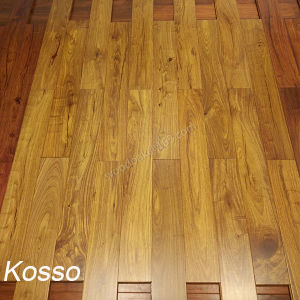 Solid Africa Kosso Wood Flooring /Parquet Hardwood Floring /Kosso Wooden Floor pictures & photos