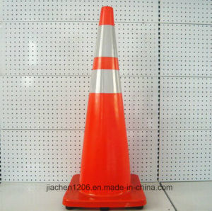Manufacturer Supplier Factory Multicolor Extra Molded Base 900mm PVC Traffic Cone pictures & photos