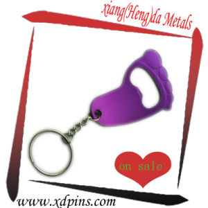 Customized Simple Design Nickel Plated Bottle Opener pictures & photos
