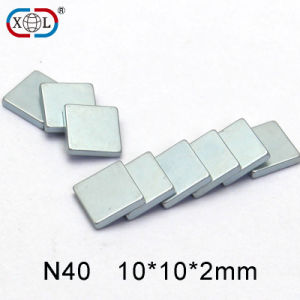 SGS Strong N40 Neodymium Magnet pictures & photos