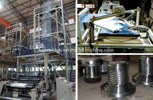 Two Layer Common-Extruding Rotary Head Film Blowing Machinery Unit pictures & photos