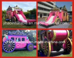 Inflatable Princess Bouncer Castle Slide Combo for Promotion pictures & photos