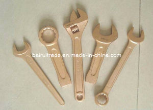Non-Sparking Aluminum Combination Wrench Sparkless Combination Spanner, Fix Spanner pictures & photos