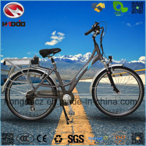 250W Cheap Electric City Road Bike for Girl pictures & photos