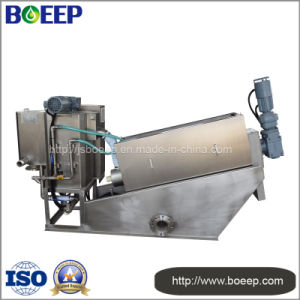 Screw Filter Press in Sewage Treatment Plant pictures & photos