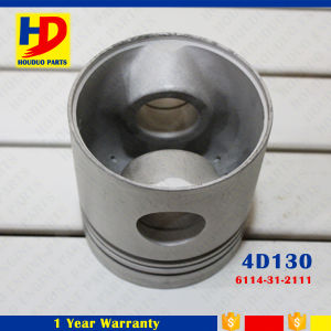 Diesel Engine Parts 4D130 for Piston with Pin OEM Number (6114-31-2111) pictures & photos