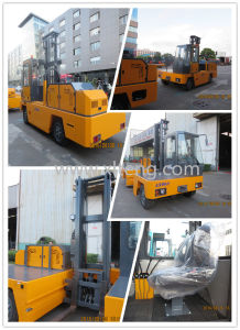 3 Ton Diesel Side Loader Forklift Price with Yanmar Engine pictures & photos