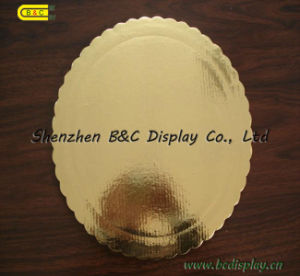 Round Cake Board Embossing Shiny Cake Base Boards pictures & photos