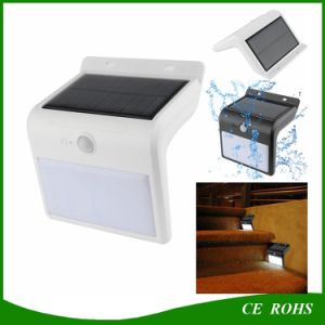 New Arrival 16 LED Solar Motion Sensor Garden Security Lamp Outdoor Waterproof Solar Stair Fence Light pictures & photos