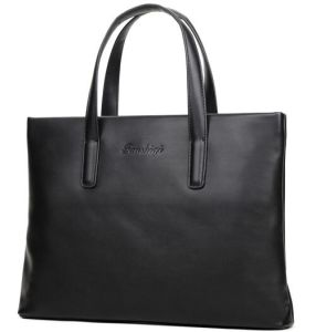 Genuine Leather Laptop Handbag for Lady pictures & photos