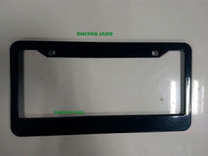 Black ABS Car Auto License Plate Frames Frame 312X160mm Licence Plate pictures & photos
