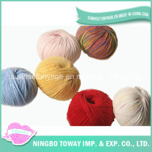 100%Supper High Strength Merino Fancy Wash Wool Yarn pictures & photos