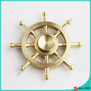 Wholesale Long-Time Rotating Finger Spinner Brass Fidget Spinner Toy