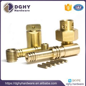 Factory Made Customized CNC Machined Aluminum Brass Stainless Steel Parts