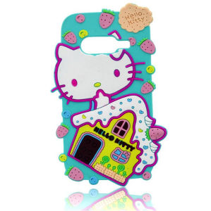 Hello Kitty Silicone Rubber Phone Case for Huawei pictures & photos