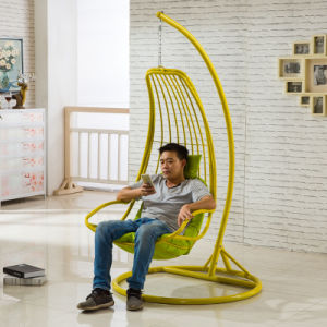Good Quality Balcony Outdoor Hanging Chair Weaving Patio Swing Wicker Furniture (D035) pictures & photos