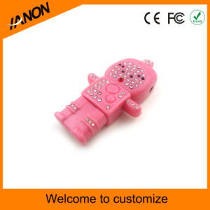 Robot USB Flash Drive Diamond USB Stick pictures & photos