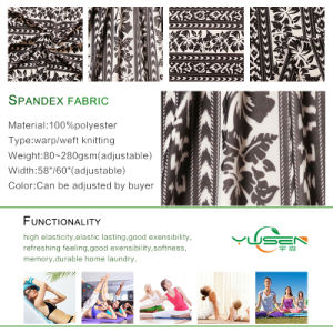 80% Polyester 20% Spandex Fabric Textile Fabric Printing Dry Fit Sport Fabric pictures & photos