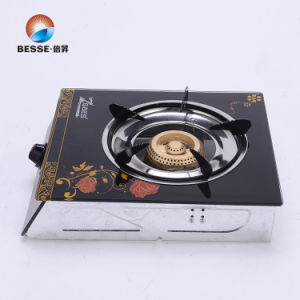 Single Burner Gas Stove, Glass Material pictures & photos