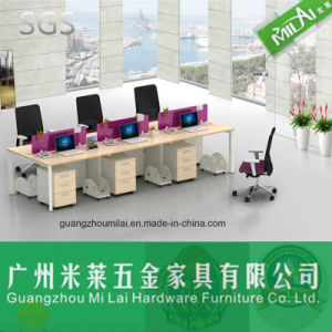 Original Quality Office Partition Workstation Table Furniture with Melamine Table Tops pictures & photos