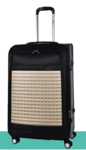 Hybird PP+1680d Fabric Suitcase pictures & photos