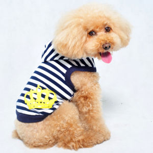 Strip Dog Clothes Pet Product Hoodie pictures & photos