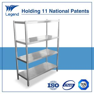 Stainless Steel Platform Shelf with Four Layers pictures & photos