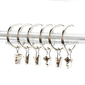 Window Metal Curtain Clip with Ring pictures & photos