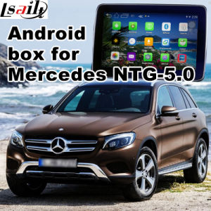 Car Android Navigation Video Interface for Benz C Cla Clk B a E Glc Ntg 5.0 Upgrade Touch Navigation WiFi Bt Mirrorlink pictures & photos