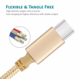 USB 3.1 Type C Cable Data Sync Fast Charger Cable pictures & photos
