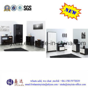 Low Price Home Furniture MDF Melamine Bedroom Sets (SH042#) pictures & photos